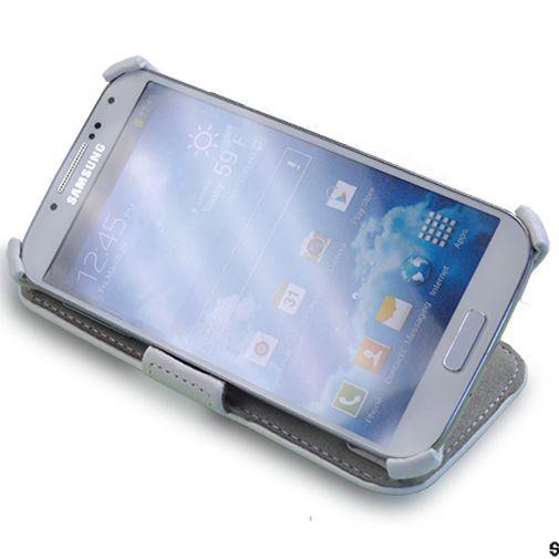 Productafbeelding van de Star-Case Book Case Oslo Plus Samsung Galaxy S4 White
