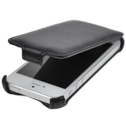 Productafbeelding van de Star-Case Flip Cover Classic Apple iPhone 5 Black