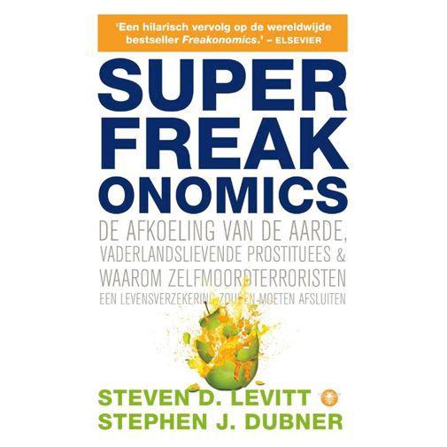 Productafbeelding van de Superfreakonomics - Steven D. Levitt & Stephen J. Dubner