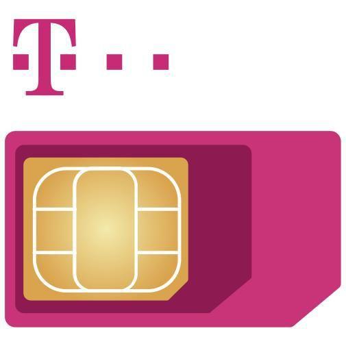 Productafbeelding van de T-Mobile vervangende 3-in-1 simkaart