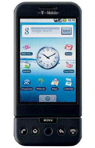 Productafbeelding van de T-Mobile G1 Zwart