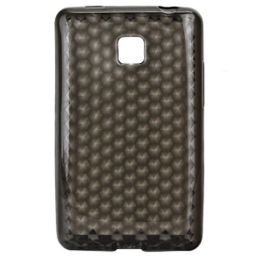 Productafbeelding van de Trendy8 Diamond Series TPU Case LG Optimus L3 II Grey