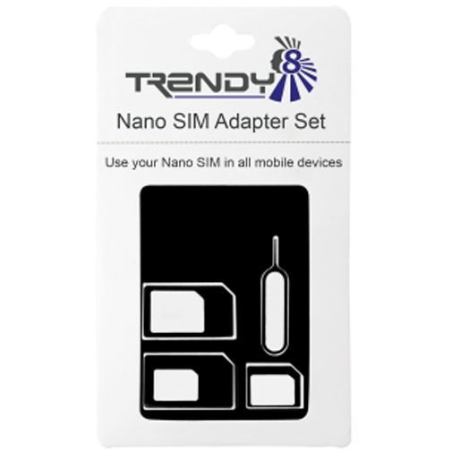 Productafbeelding van de Trendy8 Nano SIM & Micro SIM Adapter Set