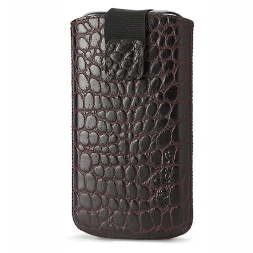 Productafbeelding van de Valenta Fashion Case Pocket Luxe Brown Cro Loop 01