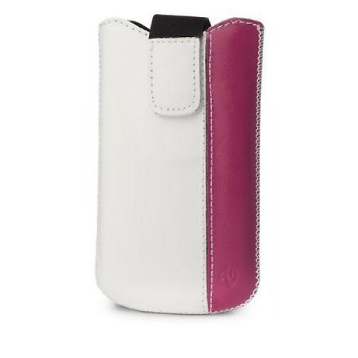 Productafbeelding van de Valenta Case Elena White-Dark Pink