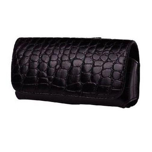 Productafbeelding van de Valenta Case Geneve Large Loop Black Croco