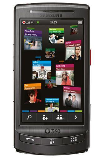 Productafbeelding van de Vodafone 360 Samsung H1 Black