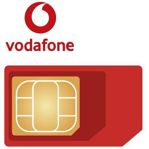 Productafbeelding van de Vodafone vervangende 3-in-1 simkaart
