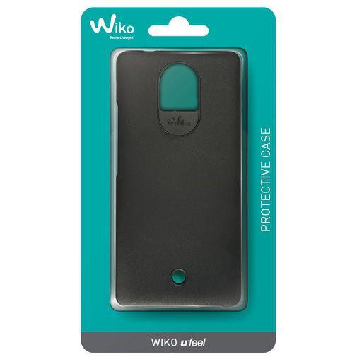 Productafbeelding van de Wiko Back Cover Black Wiko Ufeel 4G