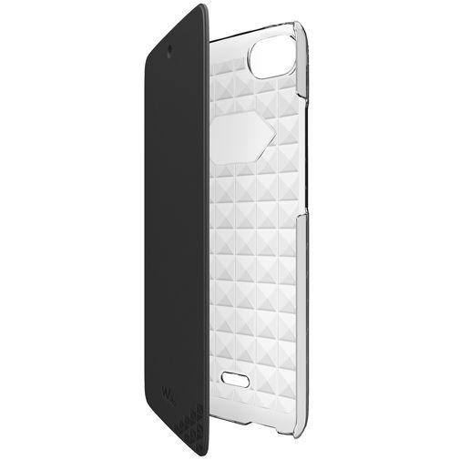 Productafbeelding van de Wiko Booklet Case Black Wiko Rainbow Jam Dual Sim