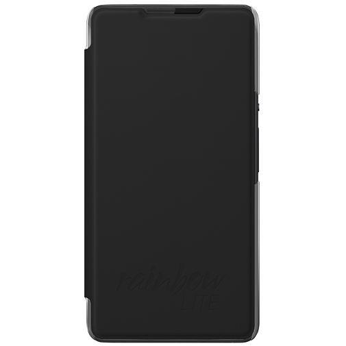 Productafbeelding van de Wiko Booklet Case Black Wiko Rainbow Lite