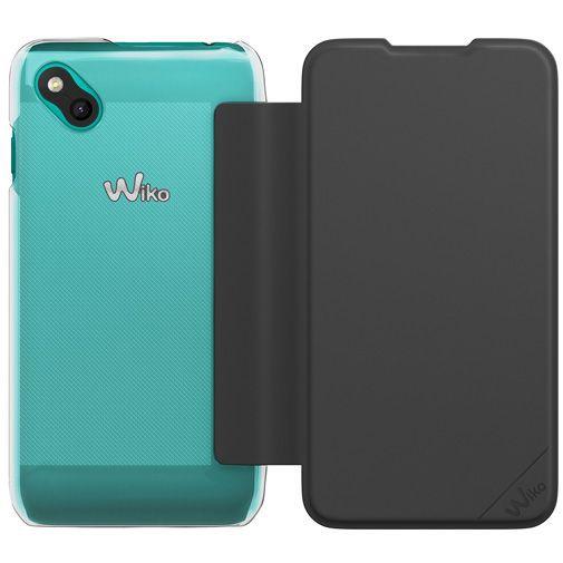 Productafbeelding van de Wiko Booklet Case Black Wiko Sunny