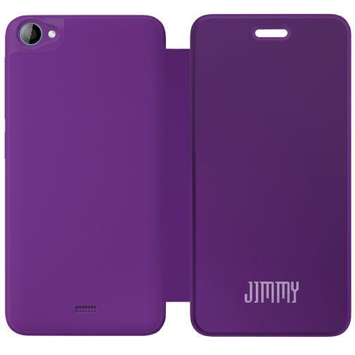 Productafbeelding van de Wiko Booklet Case Purple Wiko Jimmy