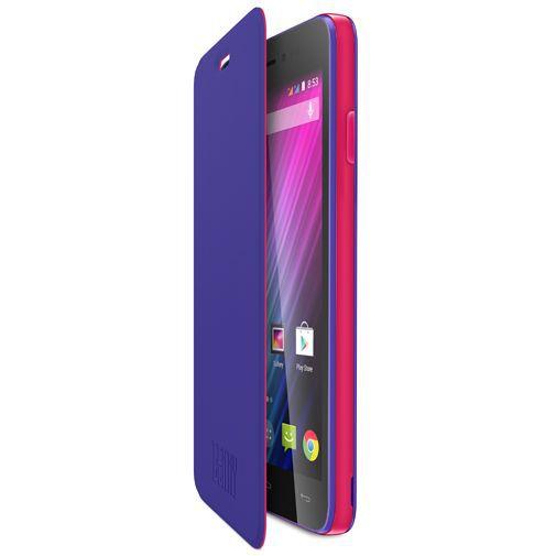 Productafbeelding van de Wiko Booklet Case Purple Wiko Lenny