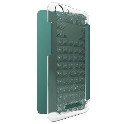 Productafbeelding van de Wiko Booklet Case Turquoise Wiko Lenny 2