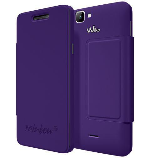 Productafbeelding van de Wiko Booklet Case Violet Wiko Rainbow 4G