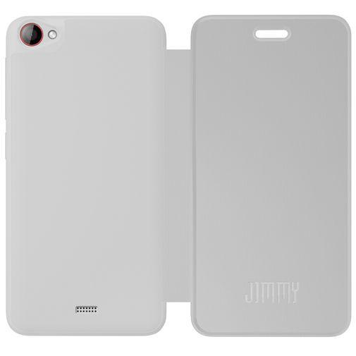 Productafbeelding van de Wiko Booklet Case White Wiko Jimmy