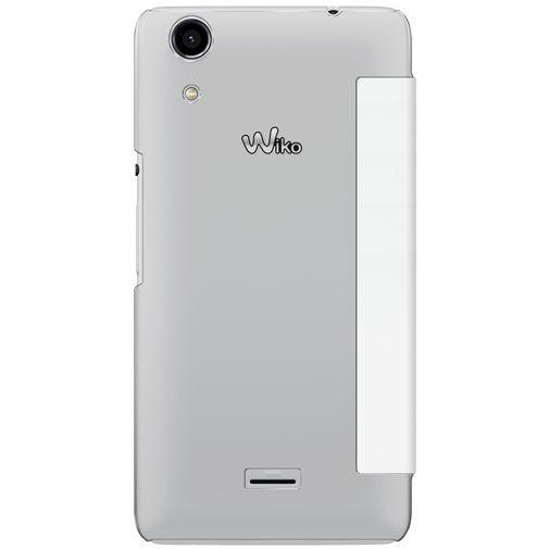 Productafbeelding van de Wiko Booklet Case White Wiko Rainbow Lite