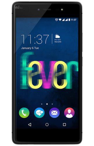 Productafbeelding van de Wiko Fever 4G Dual Sim Black Grey