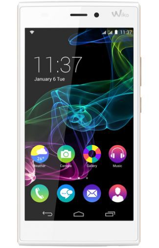 Productafbeelding van de Wiko Ridge 4G White Artic Gold