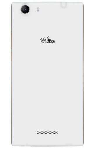Productafbeelding van de Wiko Ridge Fab 4G White Artic Gold