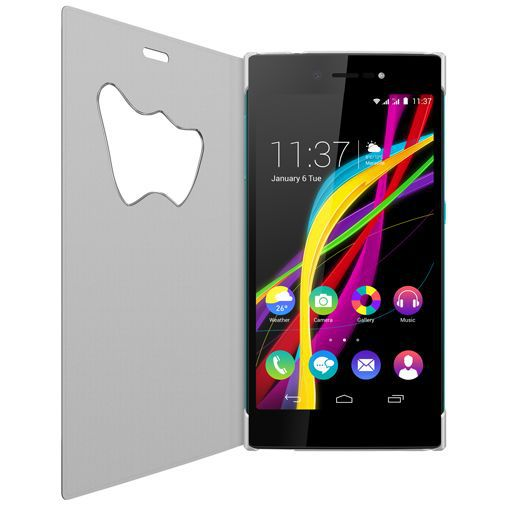Productafbeelding van de Wiko W Vision View Cover White Wiko Highway Star