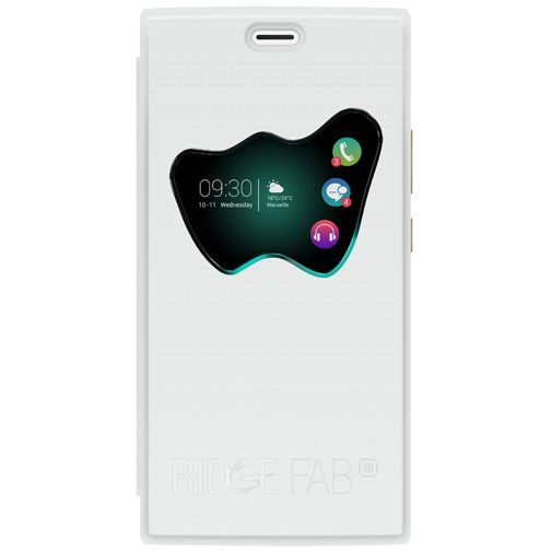 Productafbeelding van de Wiko W Vision View Cover White Wiko Ridge Fab 4G