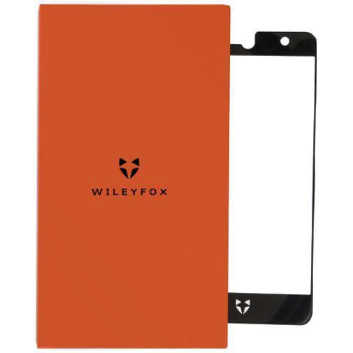 Productafbeelding van de Wileyfox Tempered Glass Screenprotector Black Swift 2X