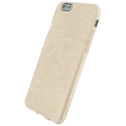 Productafbeelding van de Xccess Brushed TPU Case Gold Apple iPhone 6/6S