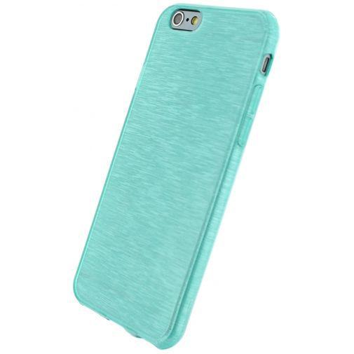 Productafbeelding van de Xccess Brushed TPU Case Turquoise Apple iPhone 6/6S