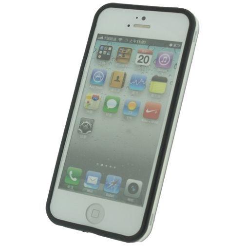 Productafbeelding van de Xccess Bumper Case Transparant Black Apple iPhone 5/5S/SE