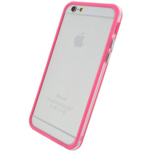 Productafbeelding van de Xccess Bumper Case Transparent/Pink Apple iPhone 6/6S