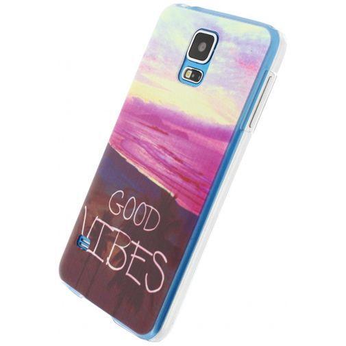 Productafbeelding van de Xccess Cover Good Vibes Samsung Galaxy S5/S5 Plus/S5 Neo