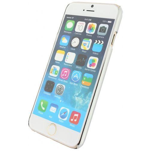 Productafbeelding van de Xccess Glitter Cover Silver Apple iPhone 6/6S