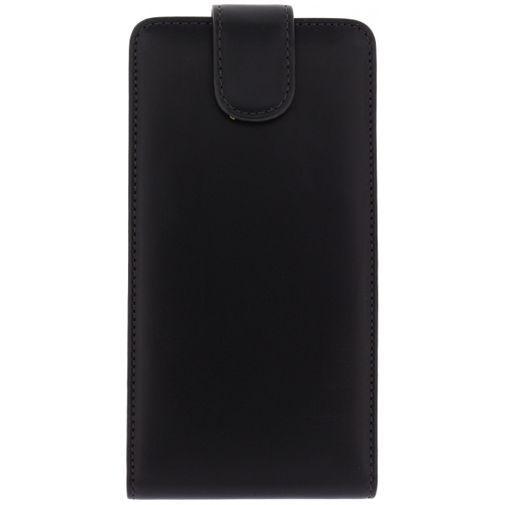 Productafbeelding van de Xccess Leather Flip Case Black HTC Desire 816
