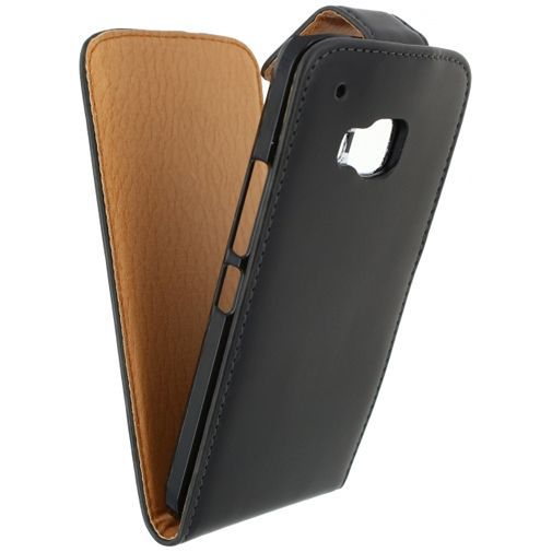 Productafbeelding van de Xccess Leather Flip Case Black HTC One M9 (Prime Camera Edition)