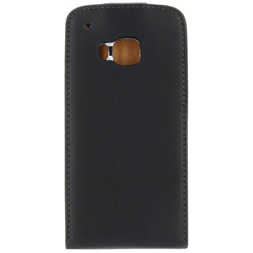 Productafbeelding van de Xccess Leather Flip Case Black HTC One M9 (Prime Camera Edition)