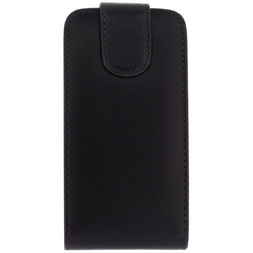 Productafbeelding van de Xccess Leather Flip Case Black LG G2 Mini
