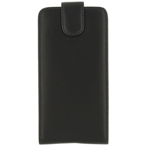 Productafbeelding van de Xccess Leather Flip Case Black LG V10