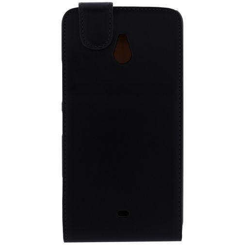 Productafbeelding van de Xccess Leather Flip Case Black Nokia Lumia 1320