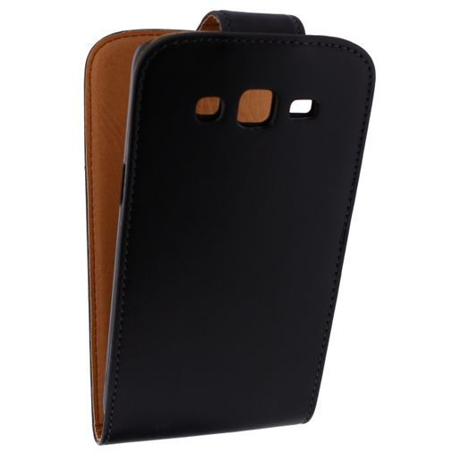 Productafbeelding van de Xccess Leather Flip Case Black Samsung Galaxy Grand 2
