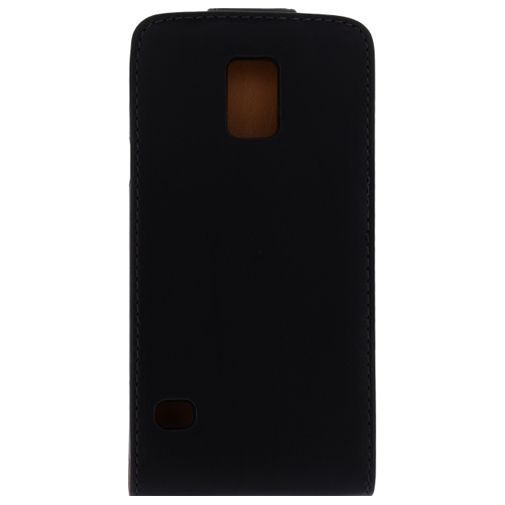 Productafbeelding van de Xccess Leather Flip Case Black Samsung Galaxy S5/S5 Plus/S5 Neo