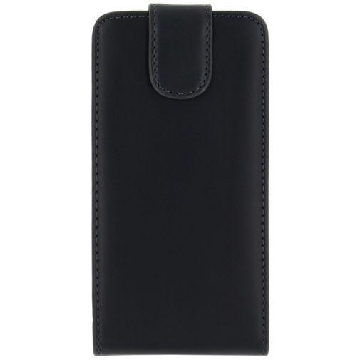Productafbeelding van de Xccess Leather Flip Case Black Samsung Galaxy S6 Edge