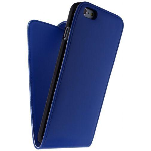 Productafbeelding van de Xccess Leather Flip Case Blue Apple iPhone 6 Plus/6S Plus
