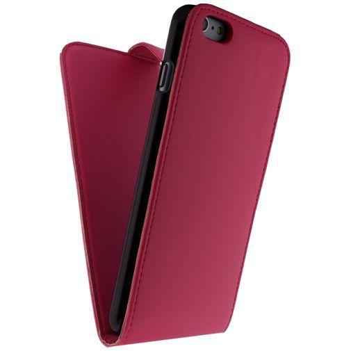 Productafbeelding van de Xccess Leather Flip Case Fuchsia Apple iPhone 6 Plus/6S Plus
