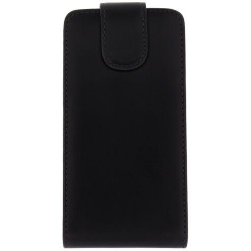 Productafbeelding van de Xccess Leather Flip Case HTC One Mini 2 Black
