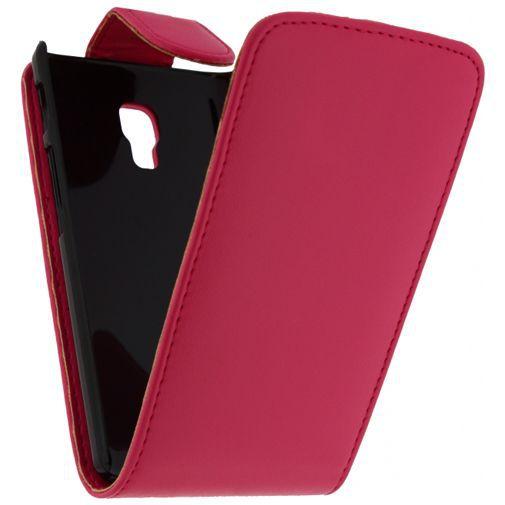 Productafbeelding van de Xccess Leather Flip Case LG Optimus L7 II Pink