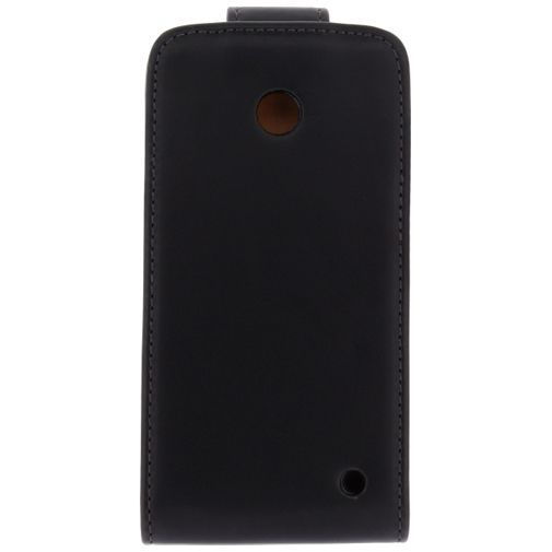 Productafbeelding van de Xccess Leather Flip Case Nokia Lumia 630/635 Black