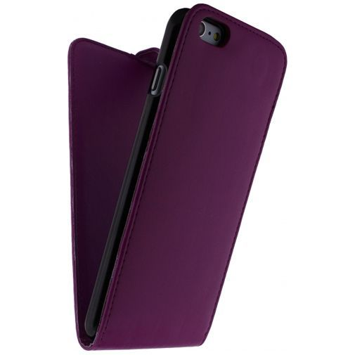 Productafbeelding van de Xccess Leather Flip Case Purple Apple iPhone 6 Plus/6S Plus