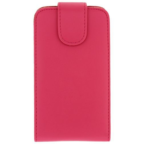 Productafbeelding van de Xccess Leather Flip Case Samsung Galaxy Core Pink